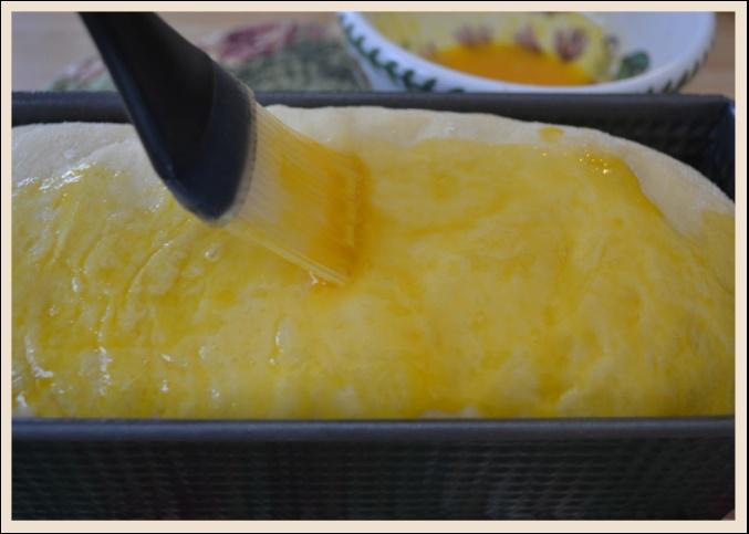 Egg Wash Brioche Loaf